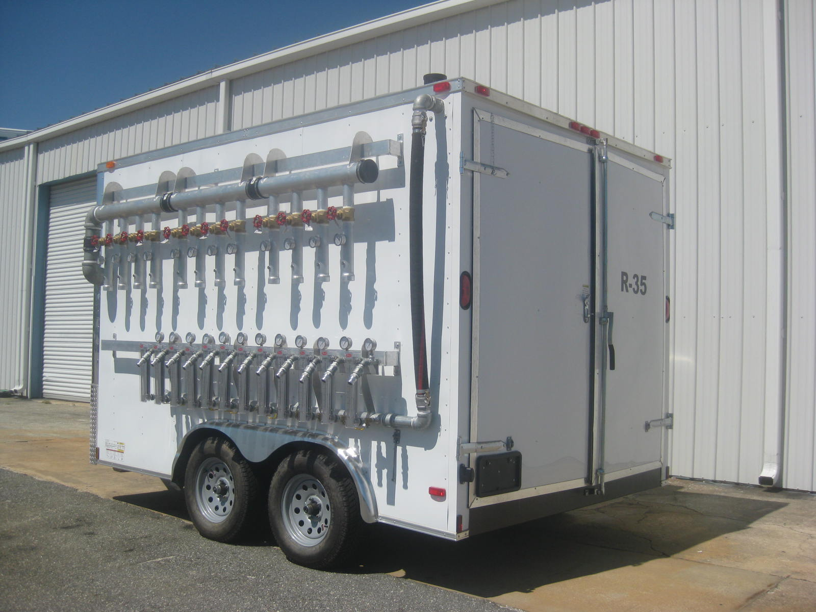 Mobile Air Sparge and Soil Vapor Extraction System
