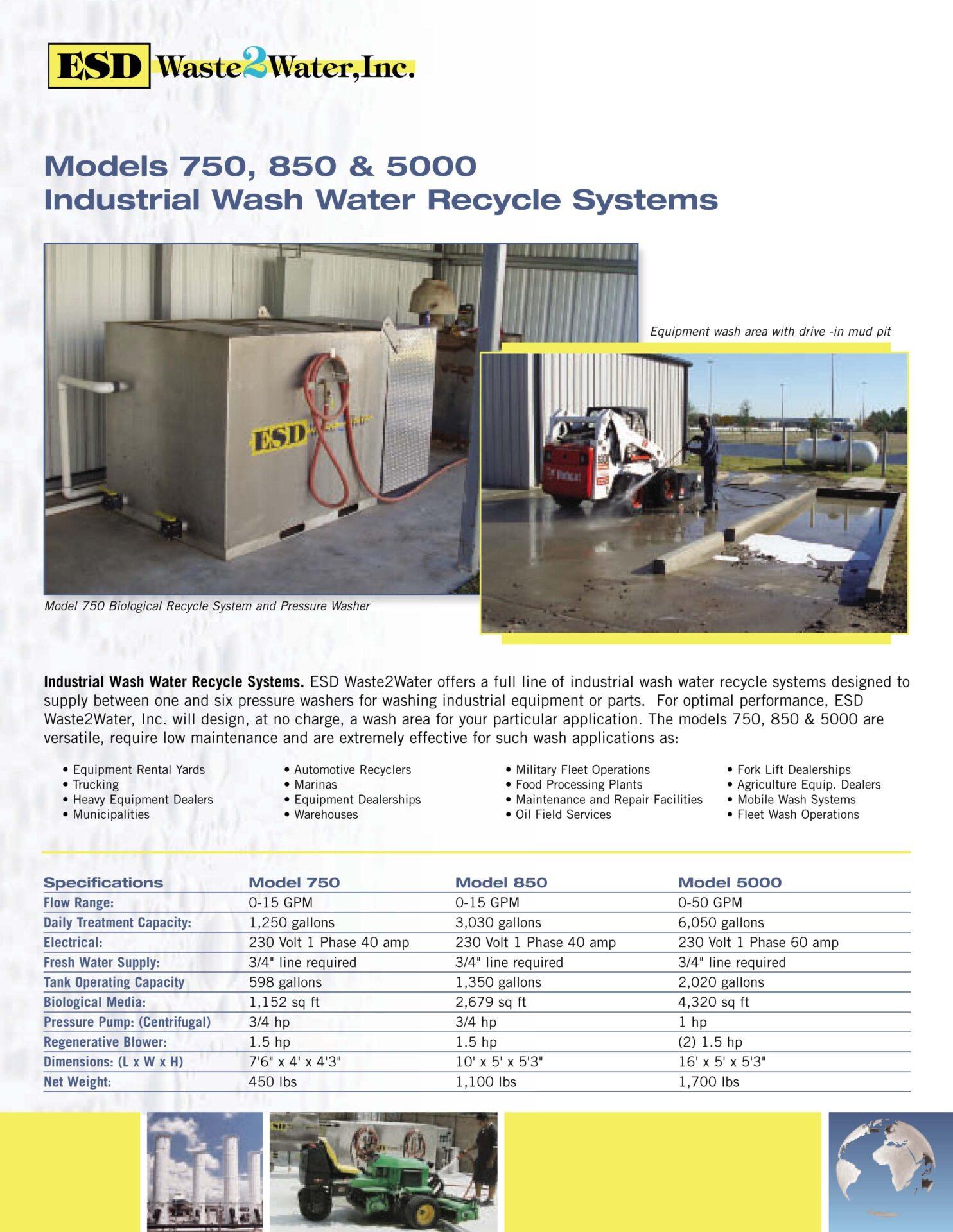 Parts Washing Stations | Closed-Loop Pressure Washing Pads