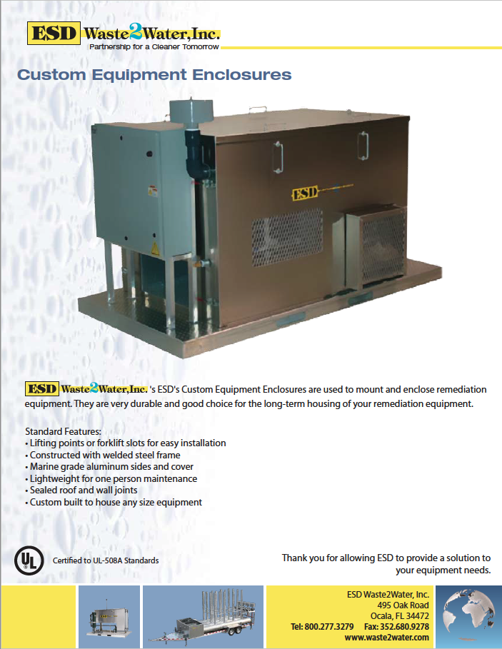 UL Listed & Labeled Control Panels | ESD Waste2Water