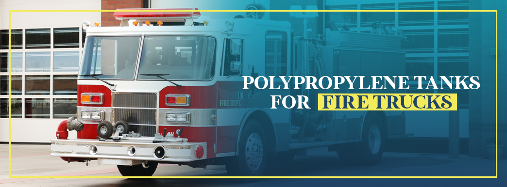 poly fire truck tanks