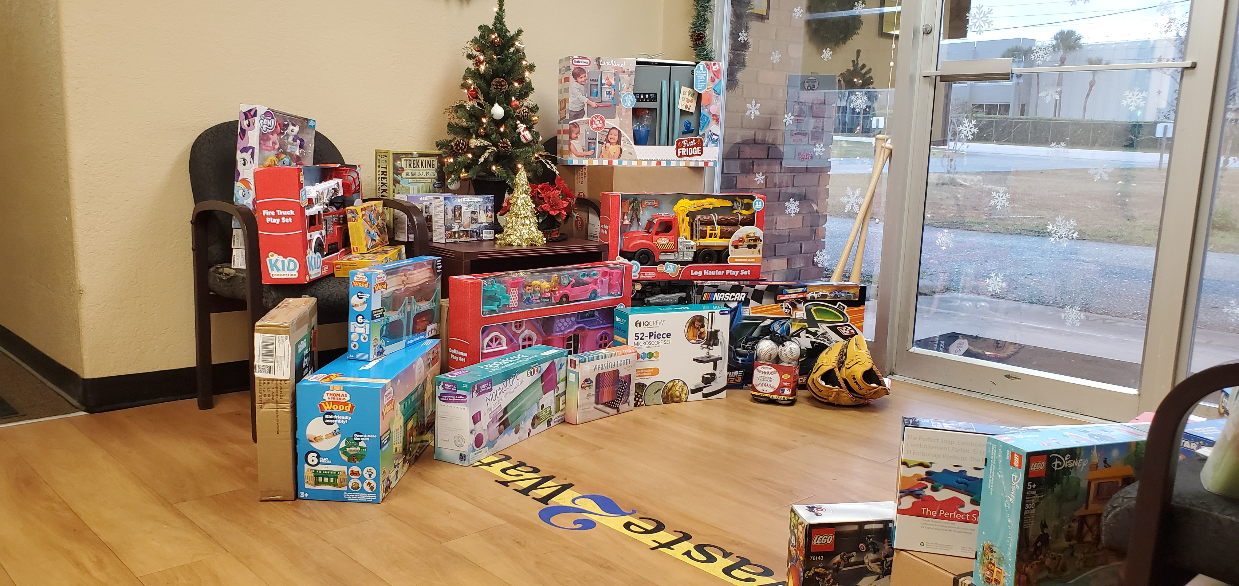 Toys for Toys for Tots Donations